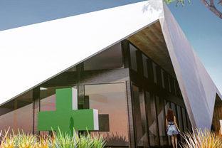 寒川町 倉見クリニックモール新築計画のイメージ